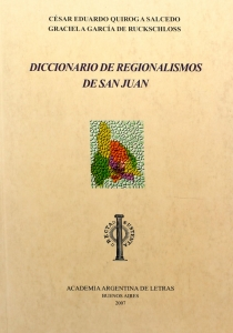 Diccionario de regionalismos de San Juan