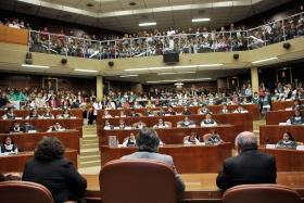 """""""V Parlamento de Clubes Ambientales Escolares"""" desarrollado en el recinto de sesiones de la Cámara de Diputados."""