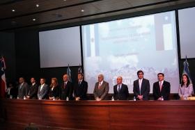 "Apertura del ""XXVI Comité de Integración Paso Internacional Agua Negra""."