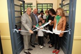Inauguraron una sala de juegos y la instalación eléctrica de aires acondicionados.