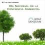 27 de septiembre: Día Nacional de la Conciencia Ambiental